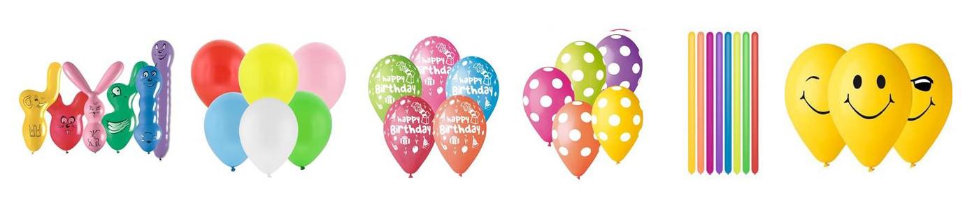balony gumowe, lateksowe - hurt