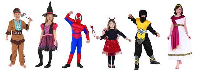 Stroje, przebrania, kostiumy, halloween - hurt