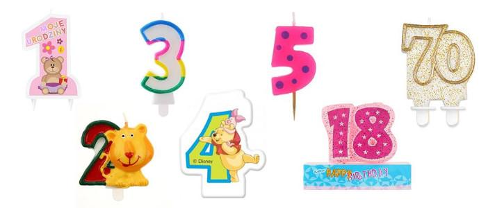 Świeczki urodzinowe - hurt
