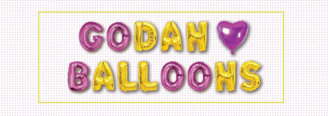 GoDan - hurtownia balonów foliowych, balonów na hel, balonów lateksowych.