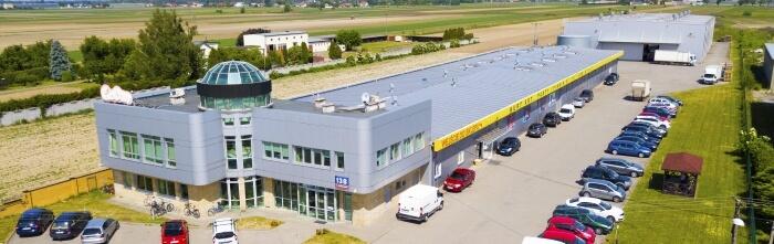 Siedziba firmy GoDan - Ożarów Mazowiecki