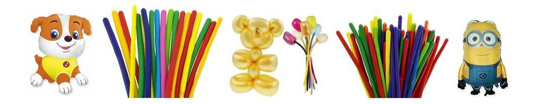 Balony w hurtowni animatora